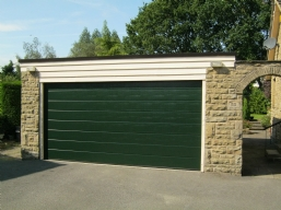 Coloured Sectional Doors