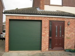Coloured Roller Garage Doors