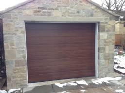 Timber Sectional Doors