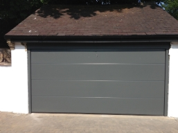 Coloured Up & Over Garage Doors
