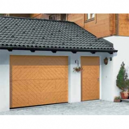 Timber Garage Side Doors